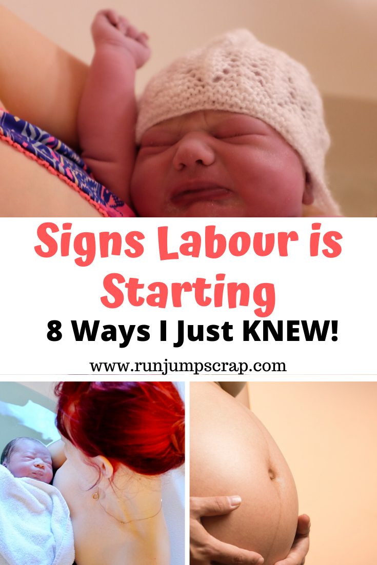 signs labour is starting