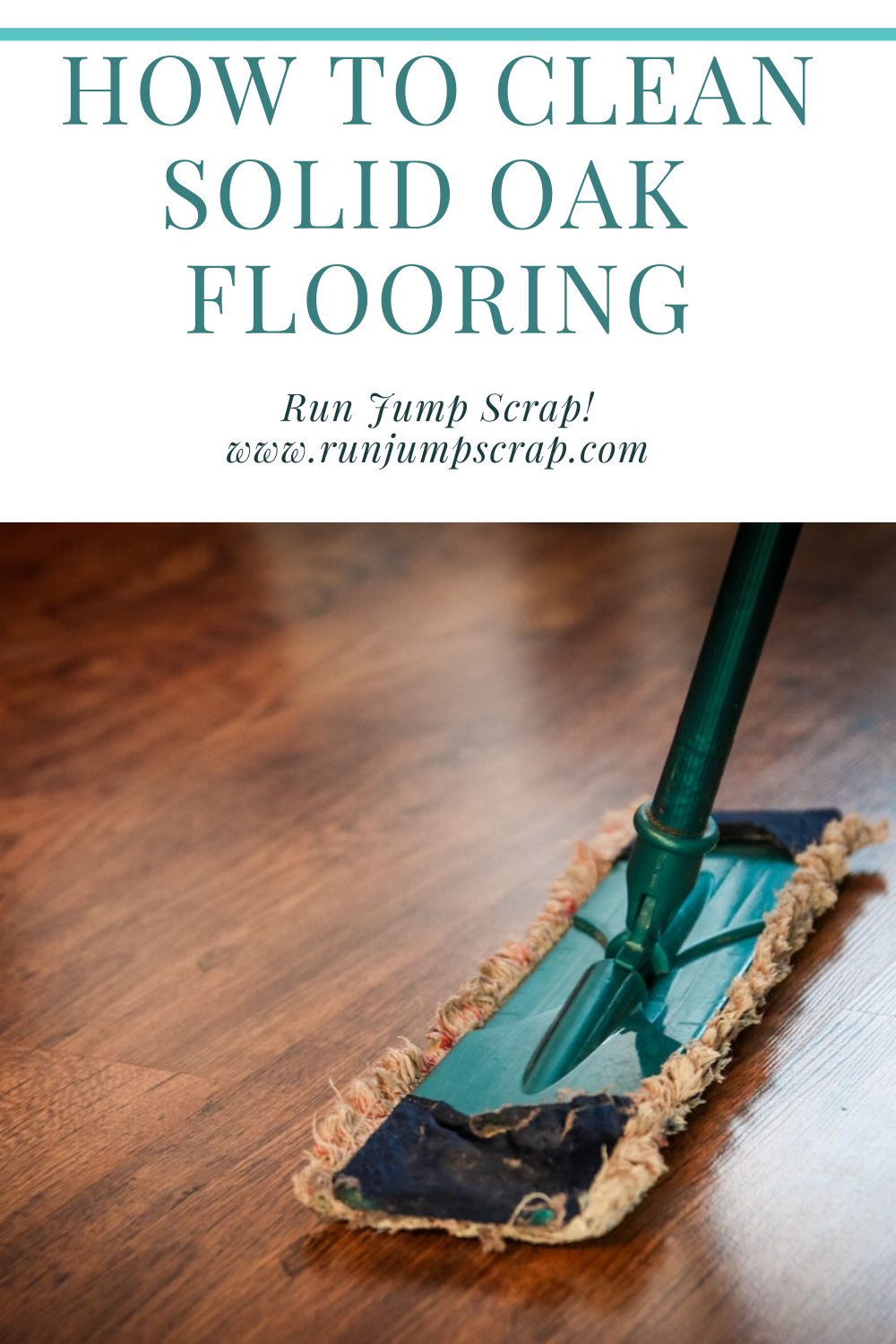 how to clean solid oak flooring