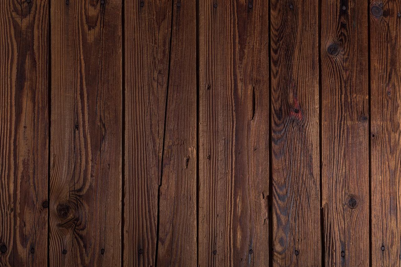 clean solid oak flooring