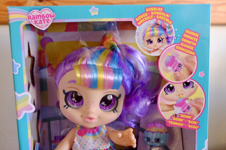 kindi kids rainbow kate doll in the box