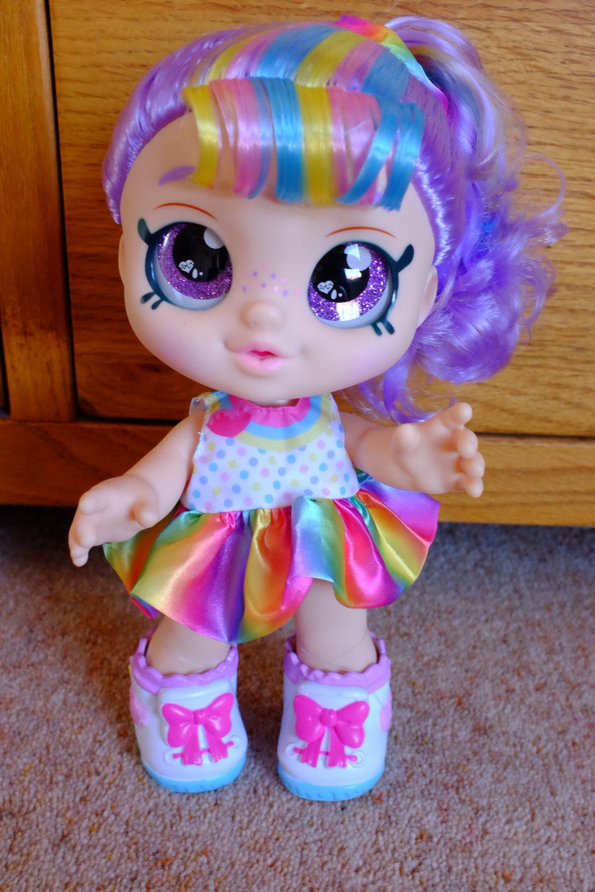 kindi kids rainbow kate doll