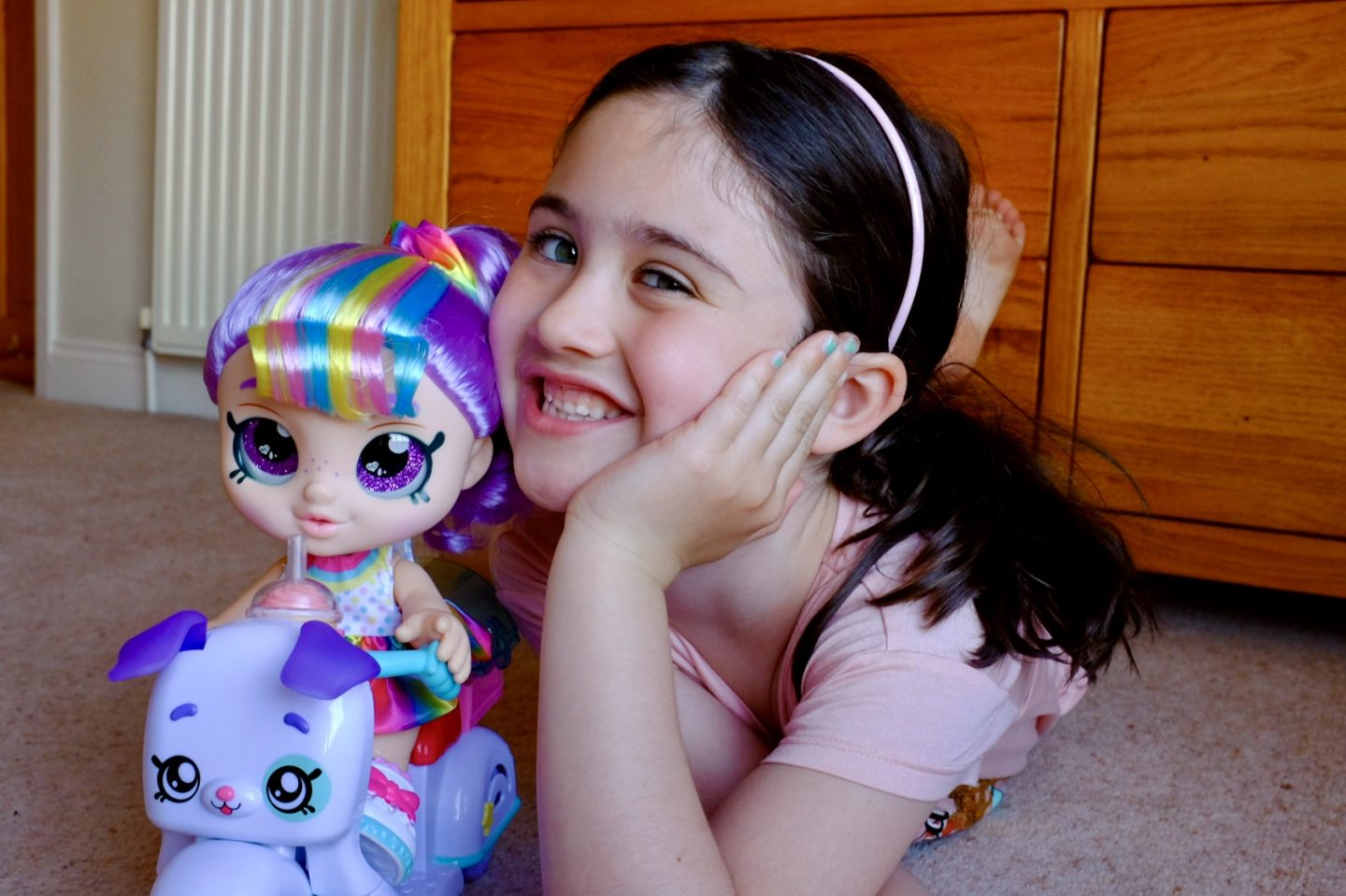 Kindi Kids Rainbow Kate Doll & Puppy Petkin Delivery Scooter REVIEW | AD