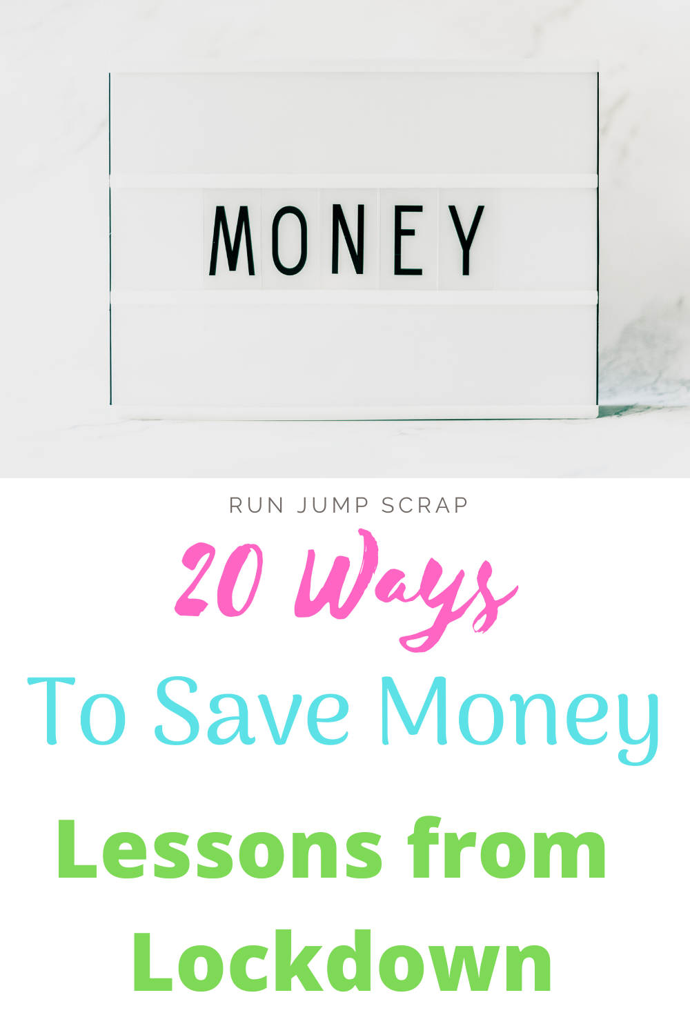 ways to save money lessons from lockdown