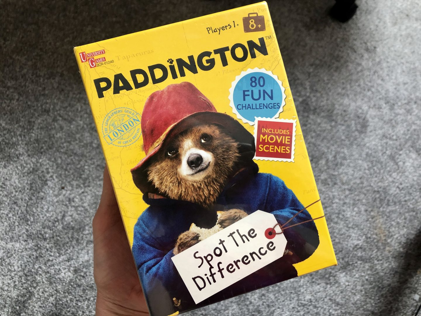 Paddington Spot the Difference Game – GIVEAWAY