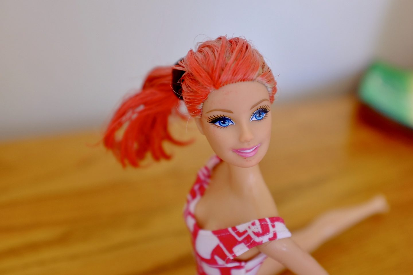 Dye a Barbie's Hair with Paint Sticks – Easy Fun for Kids