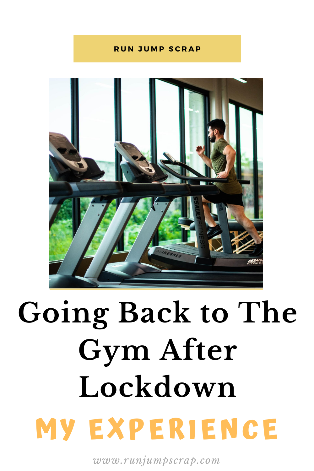 going back to the gym after lockdown my experience