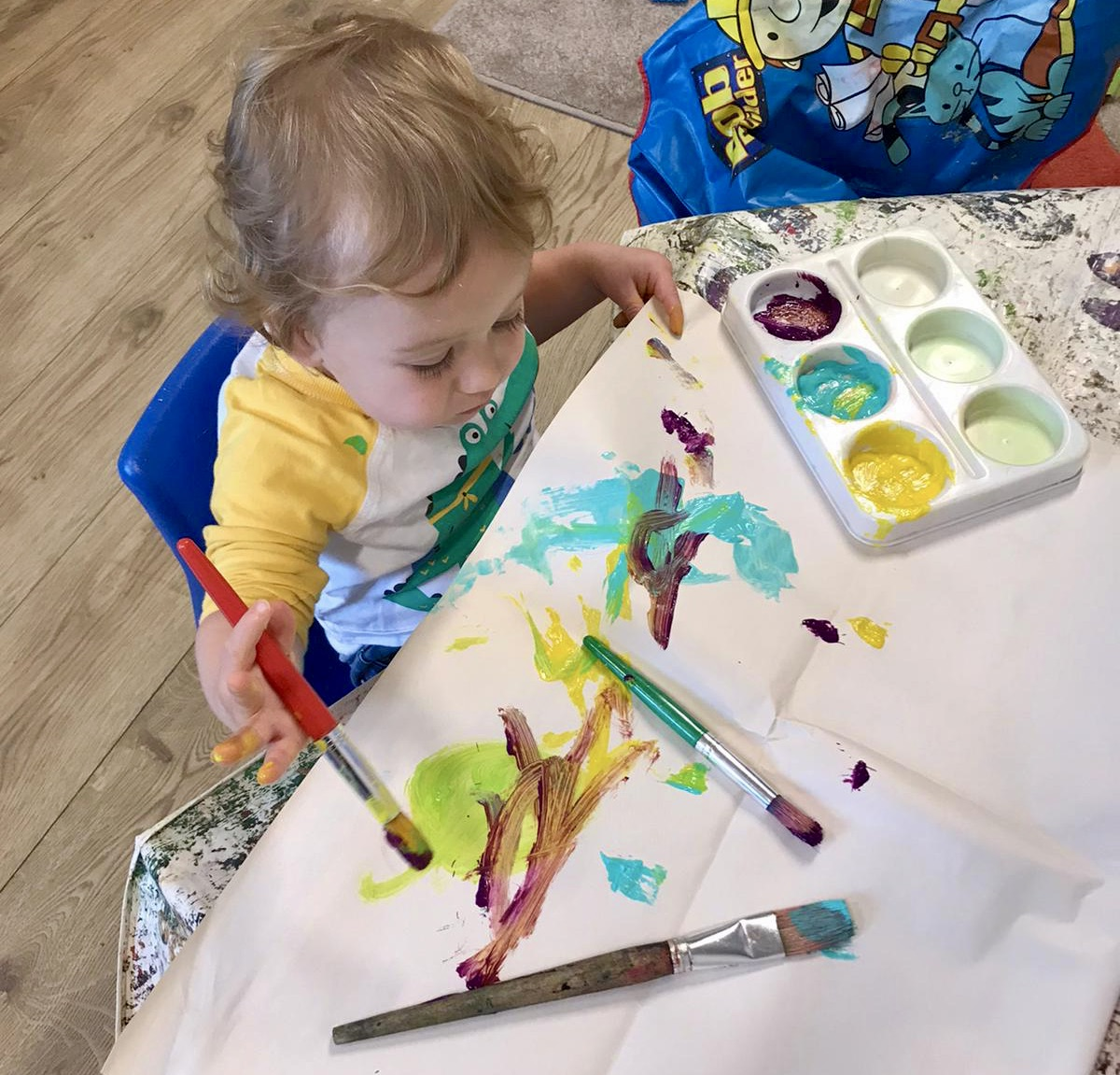 entertain an 18 month old at home
