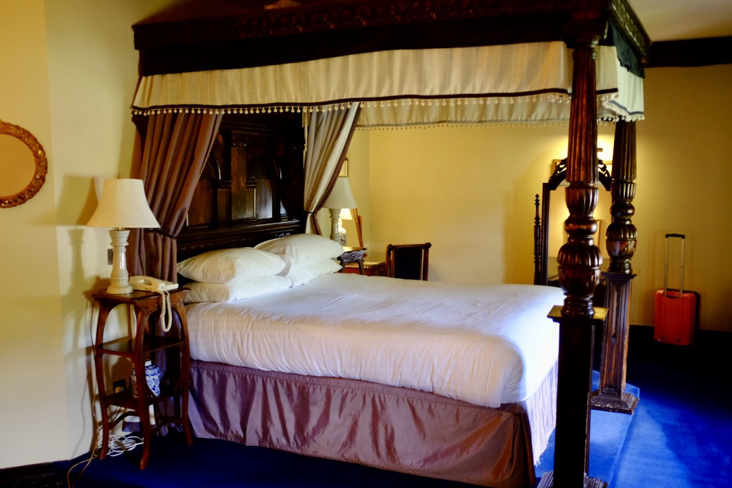 feature room at Coombe Abbey Hotel