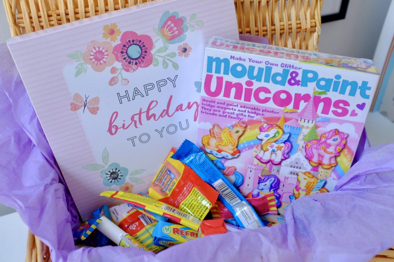 present hamper - birthday with Moonpig