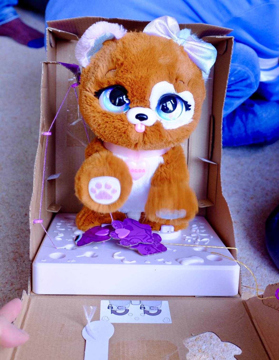 revealing Cocoa, one of the two present pets characters