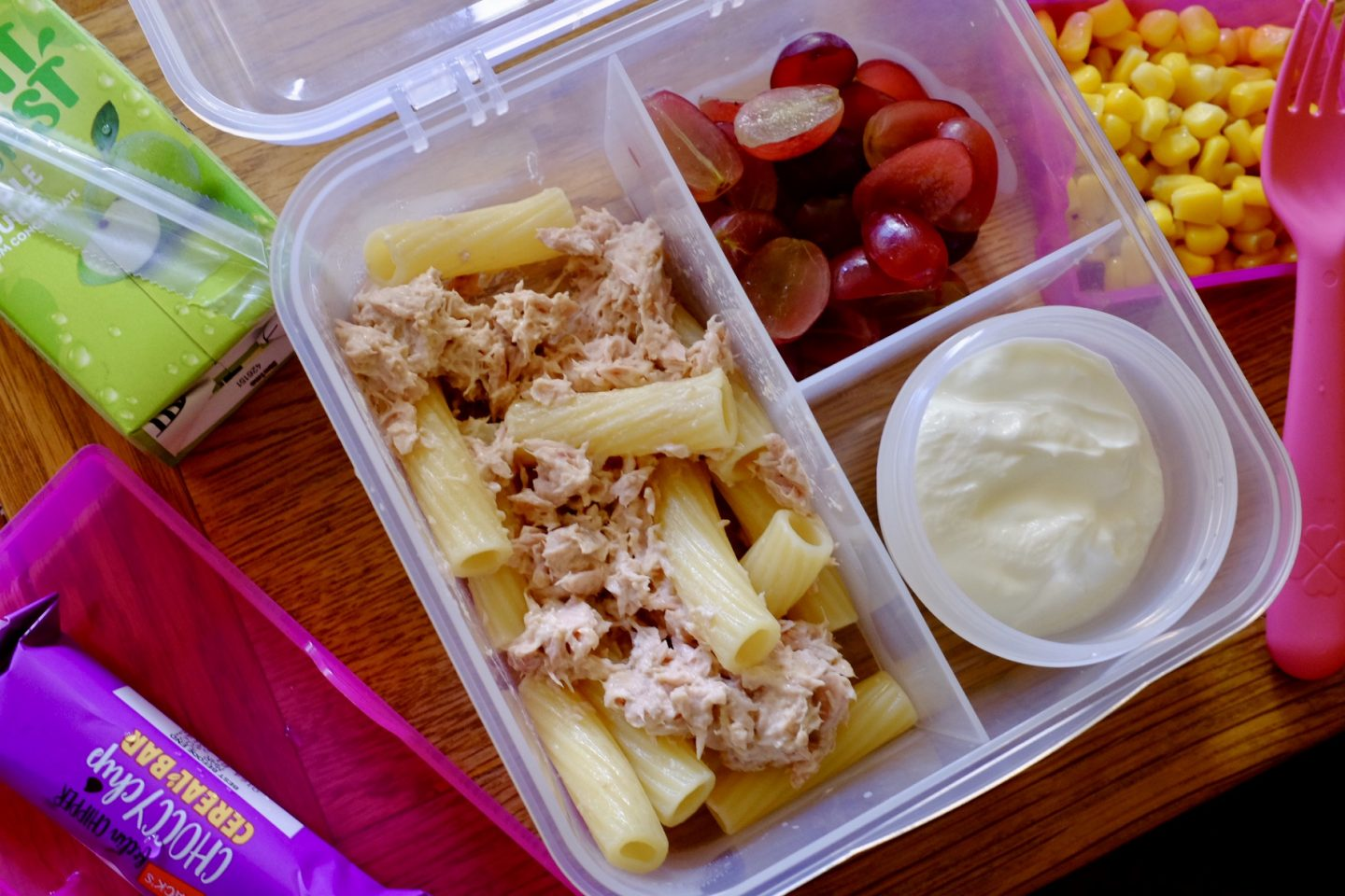 tuna pasta salad bento box ideas
