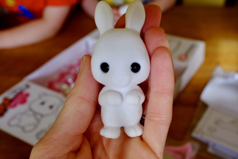 a rabbit fuzzikin