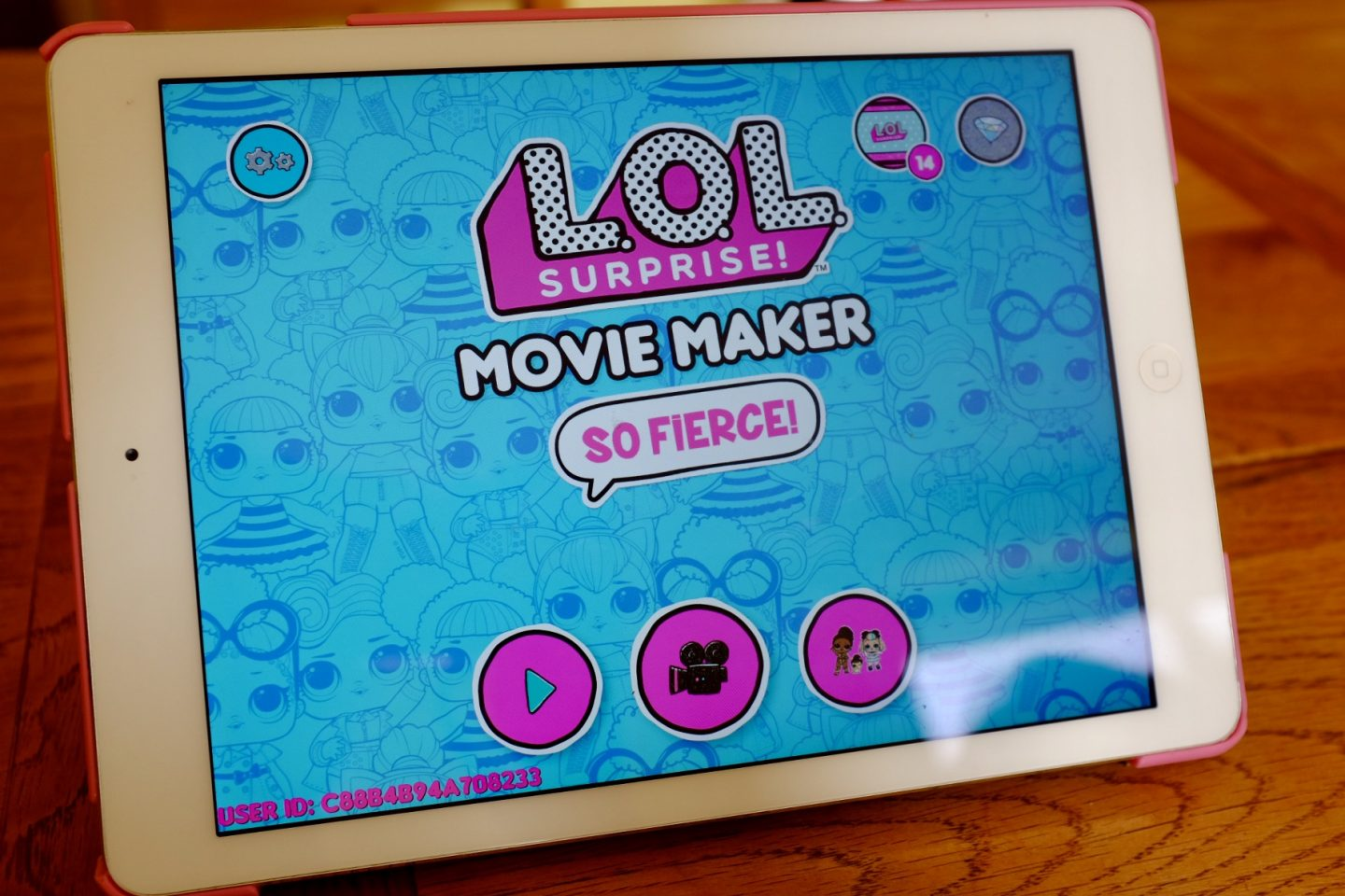 LOL Surprise Movie Maker screen