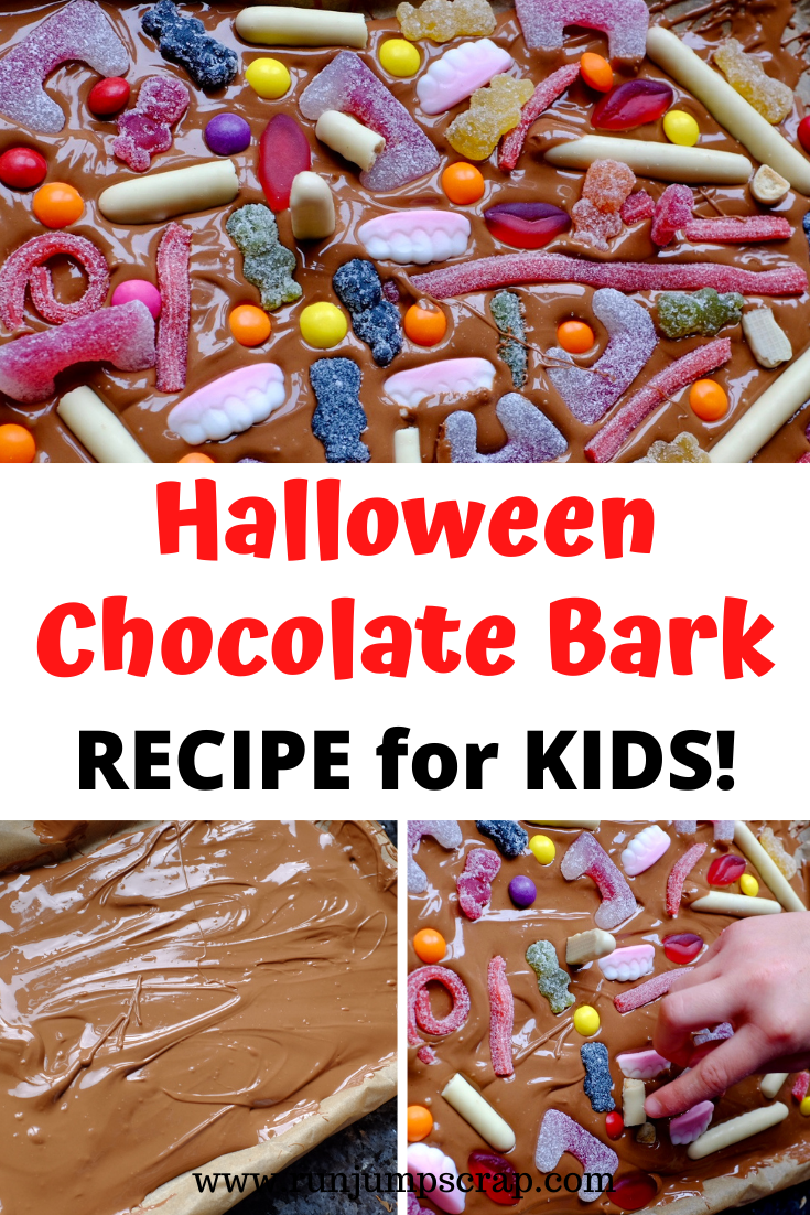 Halloween Chocolate Bark Recipe for Kids