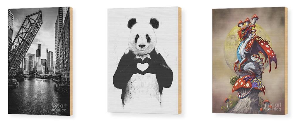 use wall art - wooden art