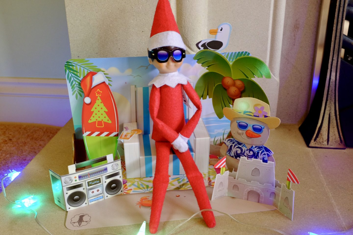 Elf Arrival Ideas on December 1st – with Elf on the Shelf | AD