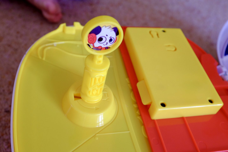 Ryan's World Panda Head Playset - the key ready to open