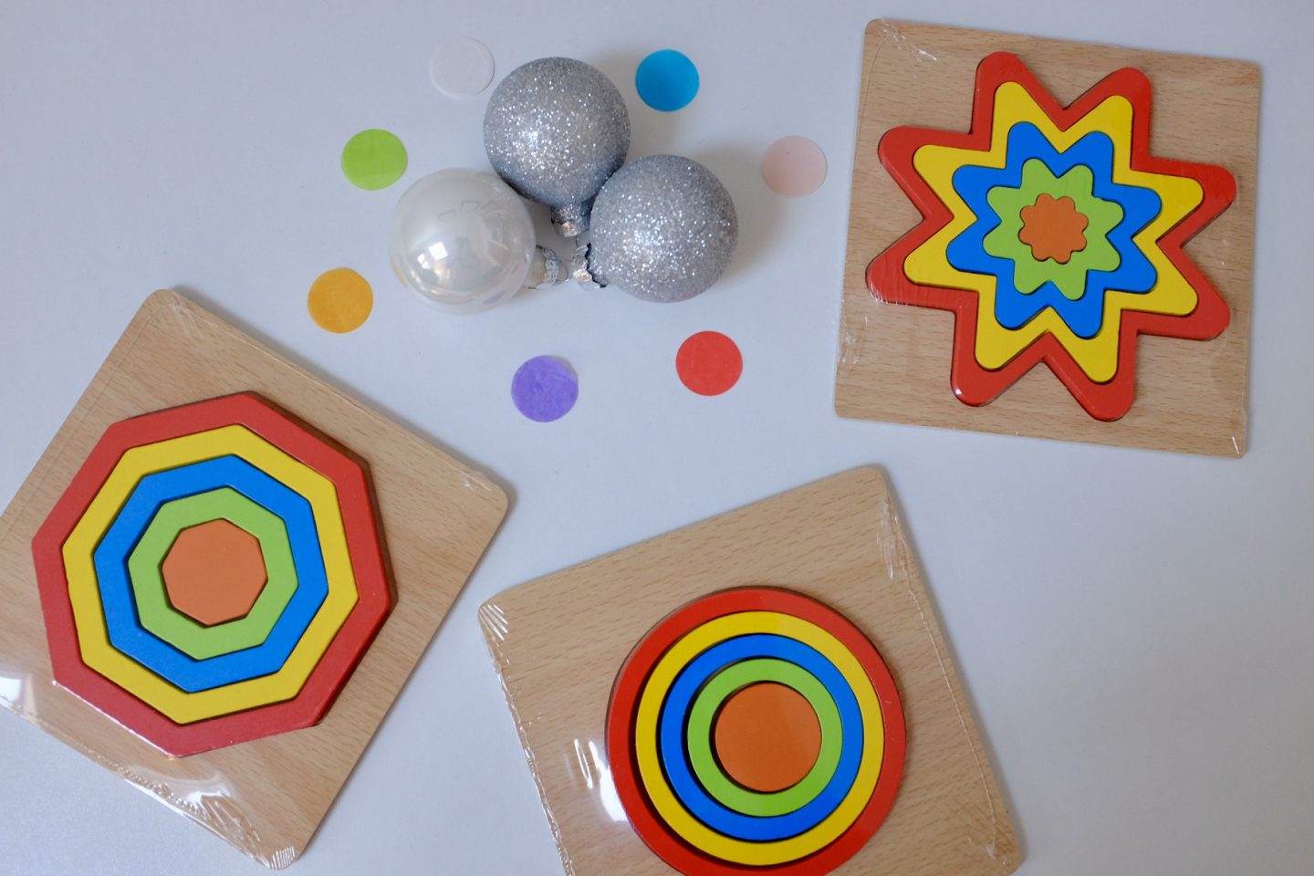 rainbow gift ideas - rainbow puzzles from Jaques