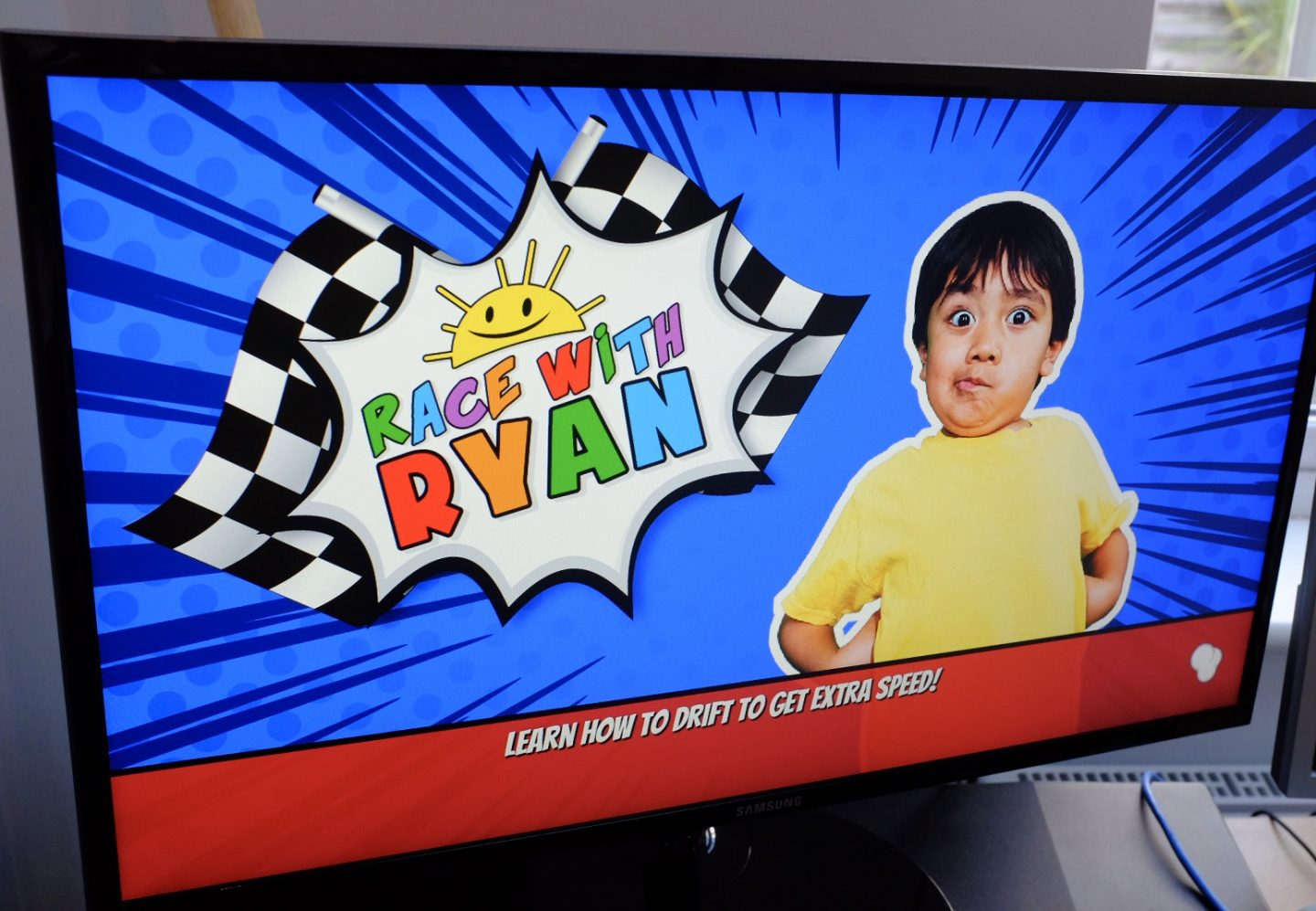Race with Ryan home screen for PC