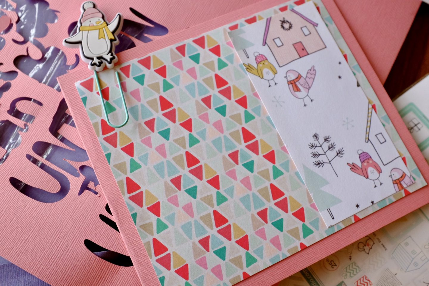 layering up cardstock