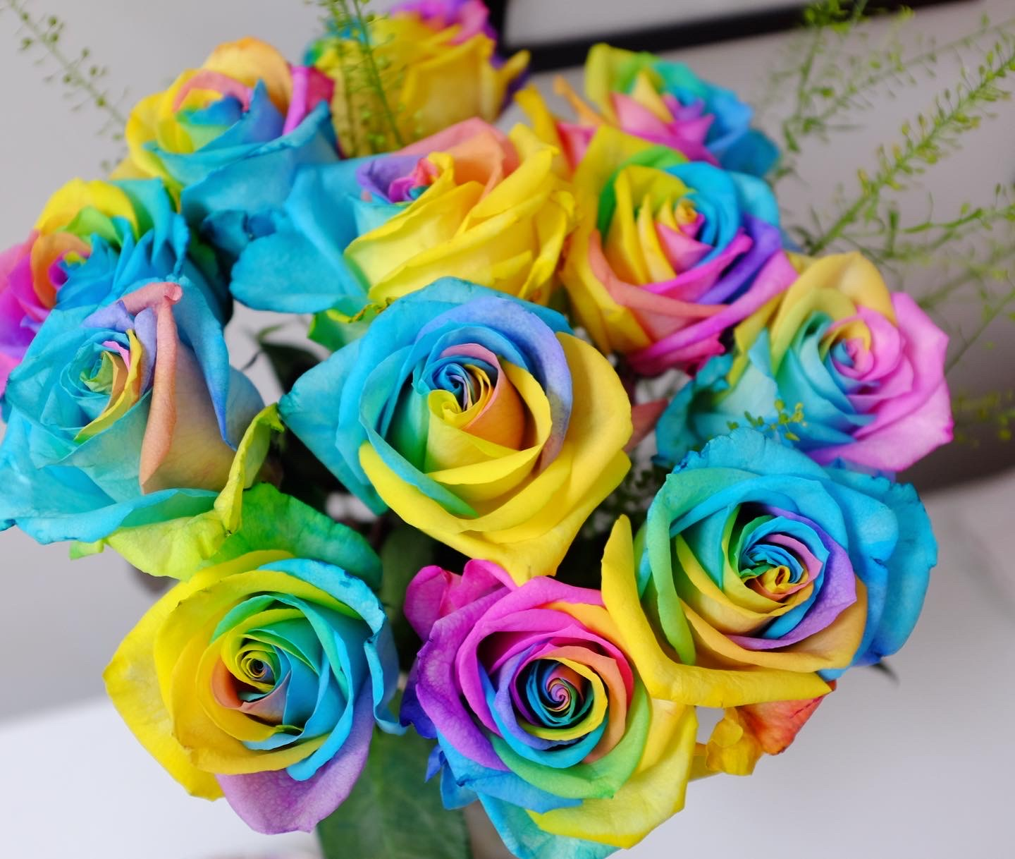 rainbow Bouquet from eflorist