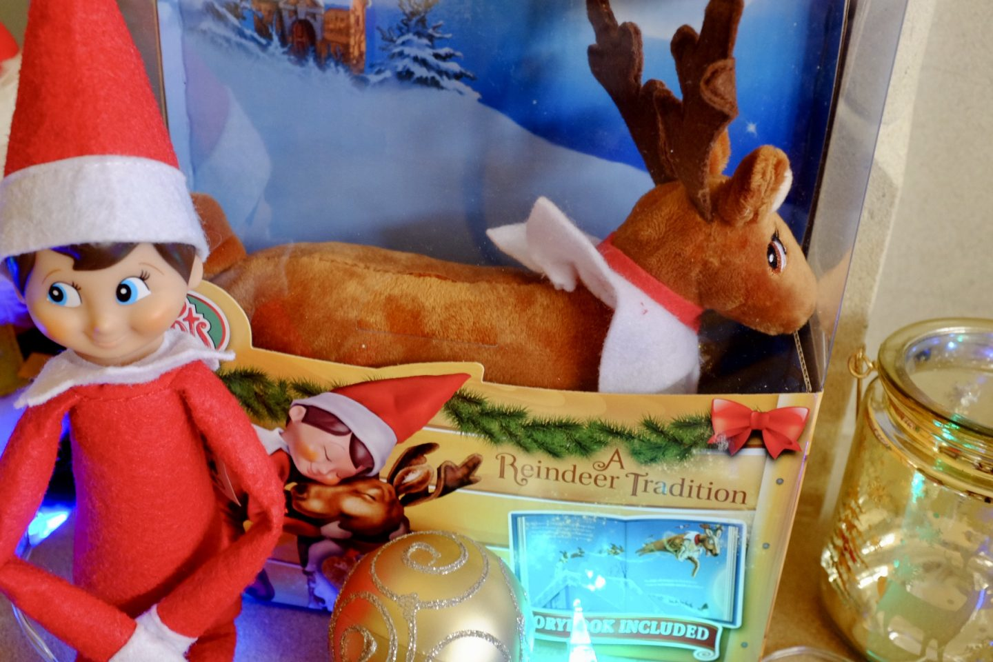 Reindeer Tradition Box - Elf arrival ideas