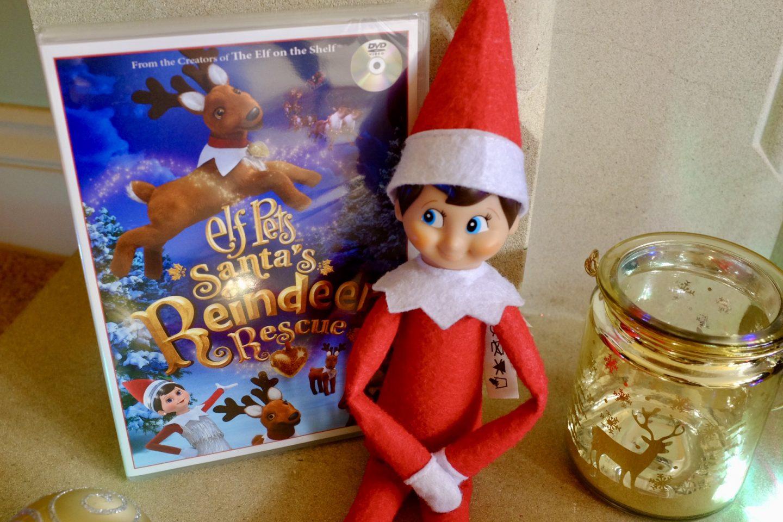 Santa's Reindeer Rescue Film - Elf on the Shelf Elf arrival ideas