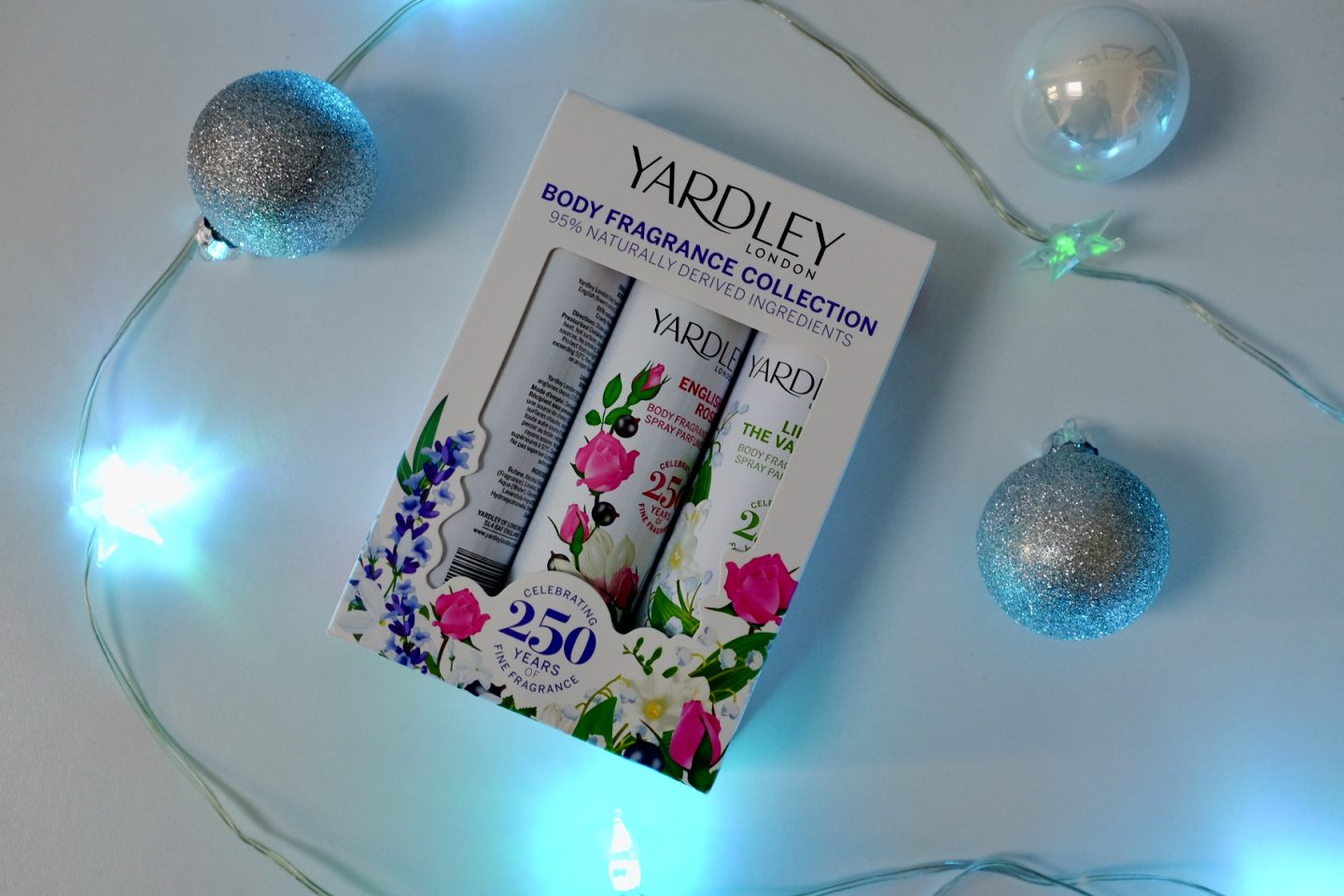 yardley London body spray collection