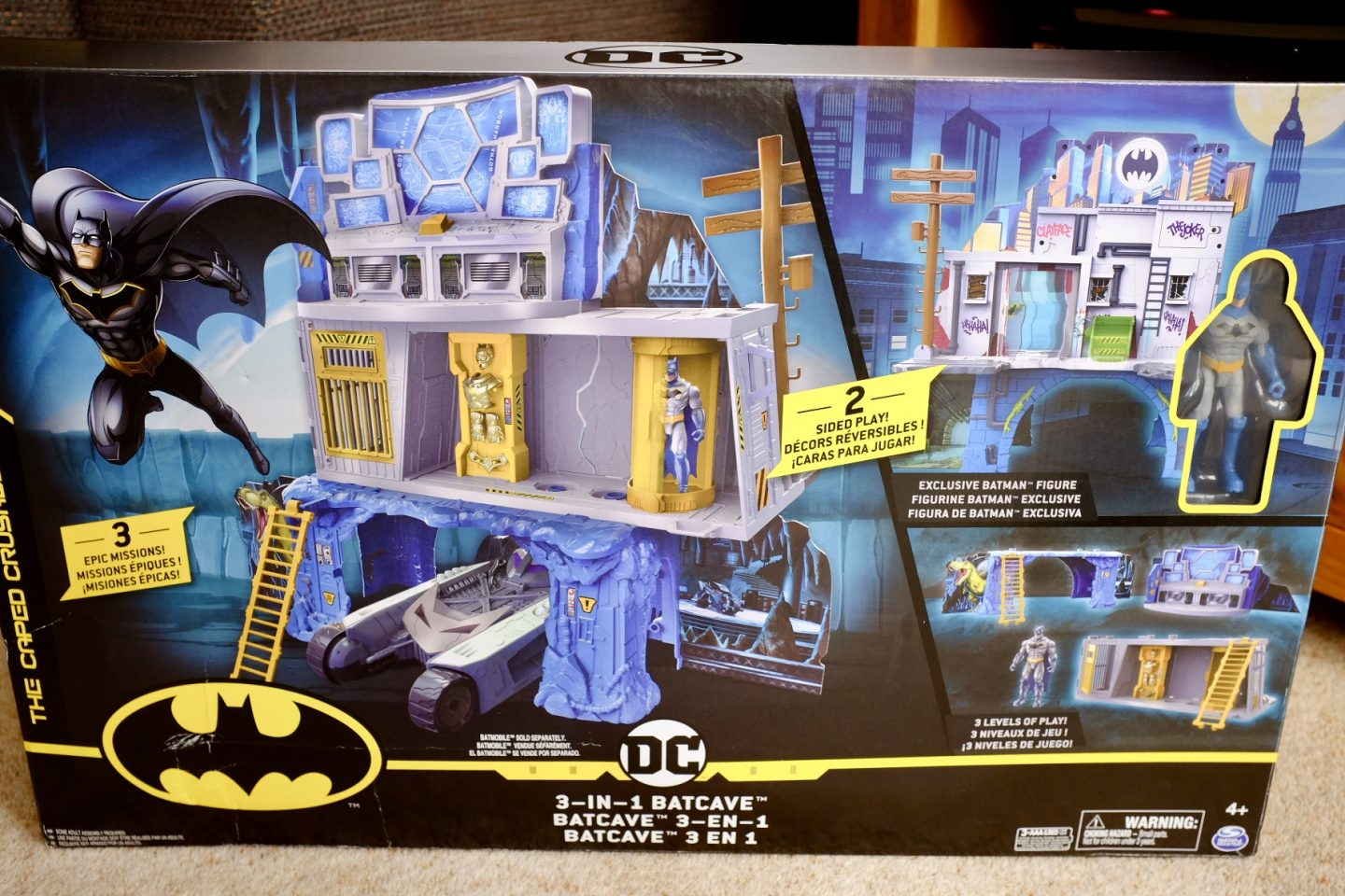 BATMAN Mission Batcave