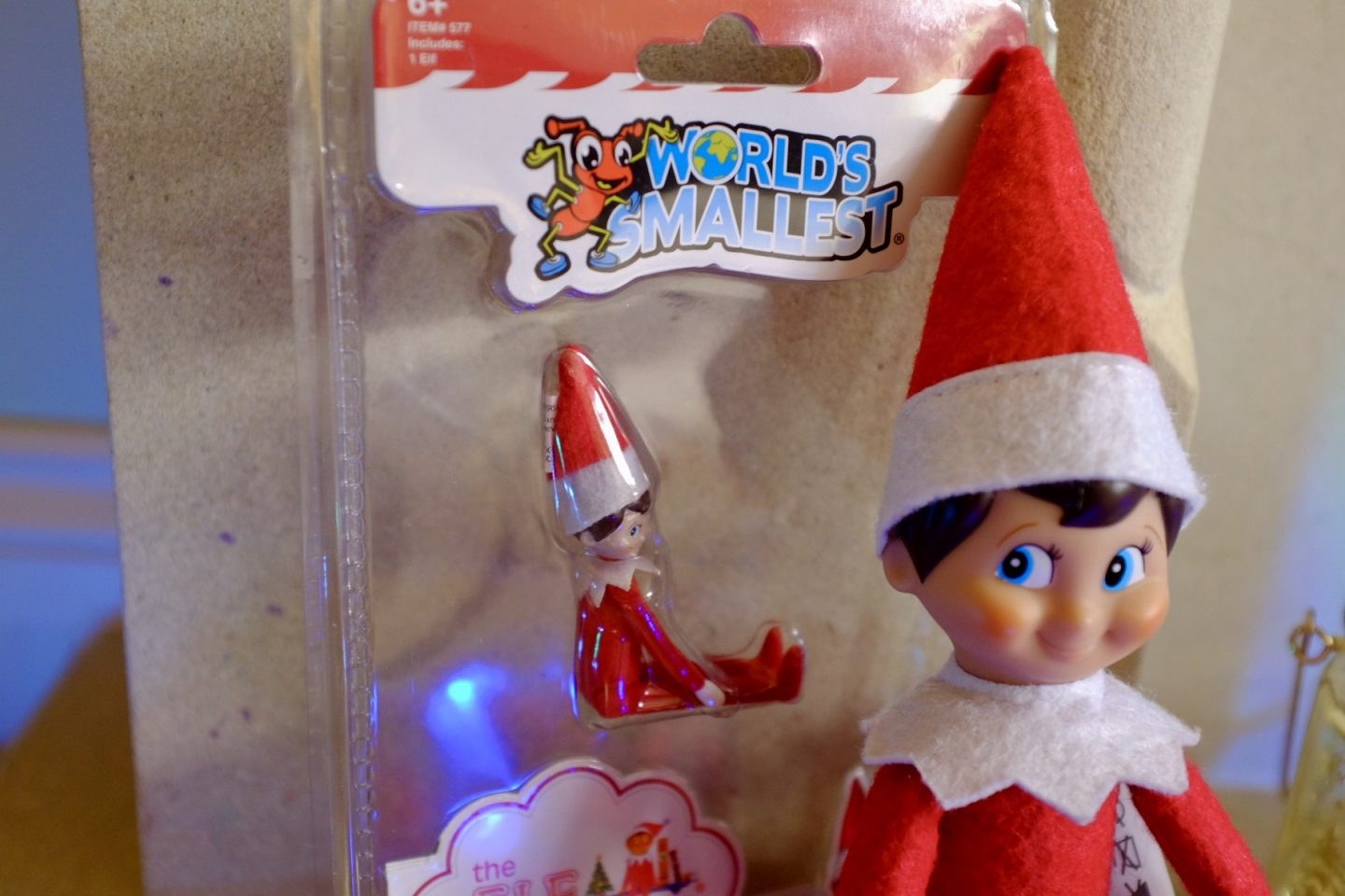 The World's Smallest Ef - Elf on the Shelf