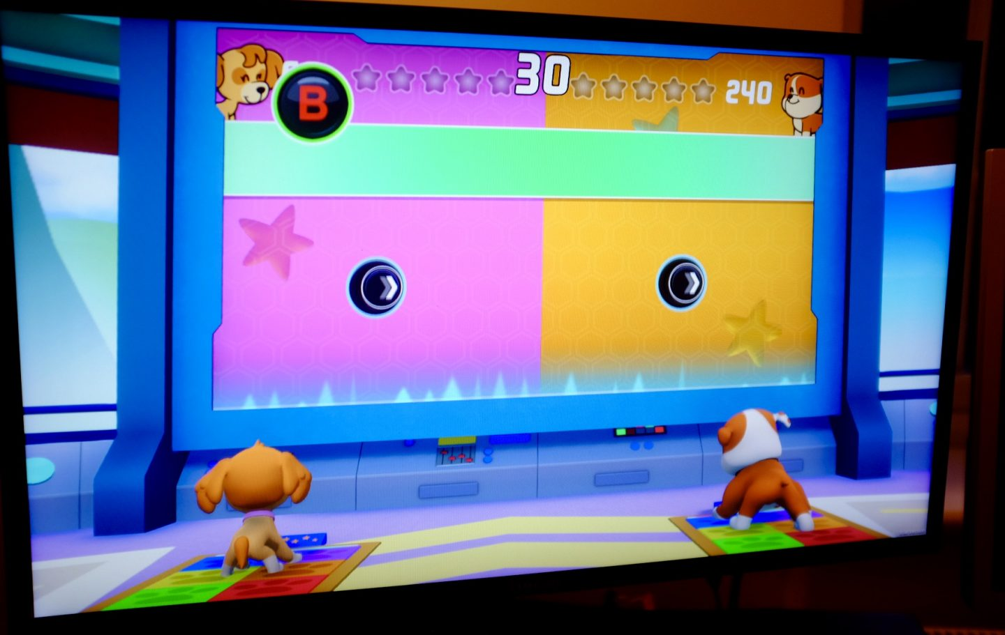 Pup Pup Boogie mini game