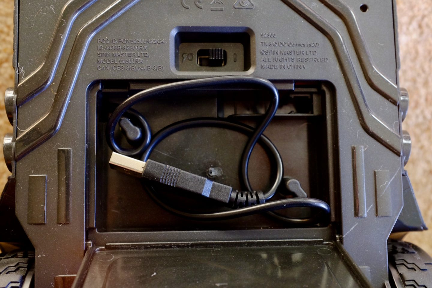 USB charger for the batmobile