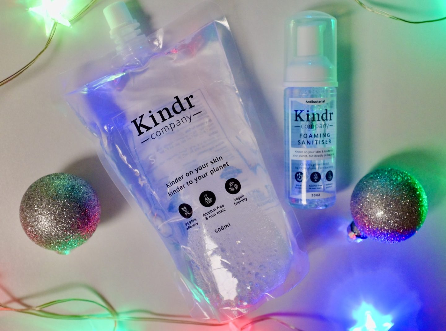 Hand Sanitiser from the Kindr Company