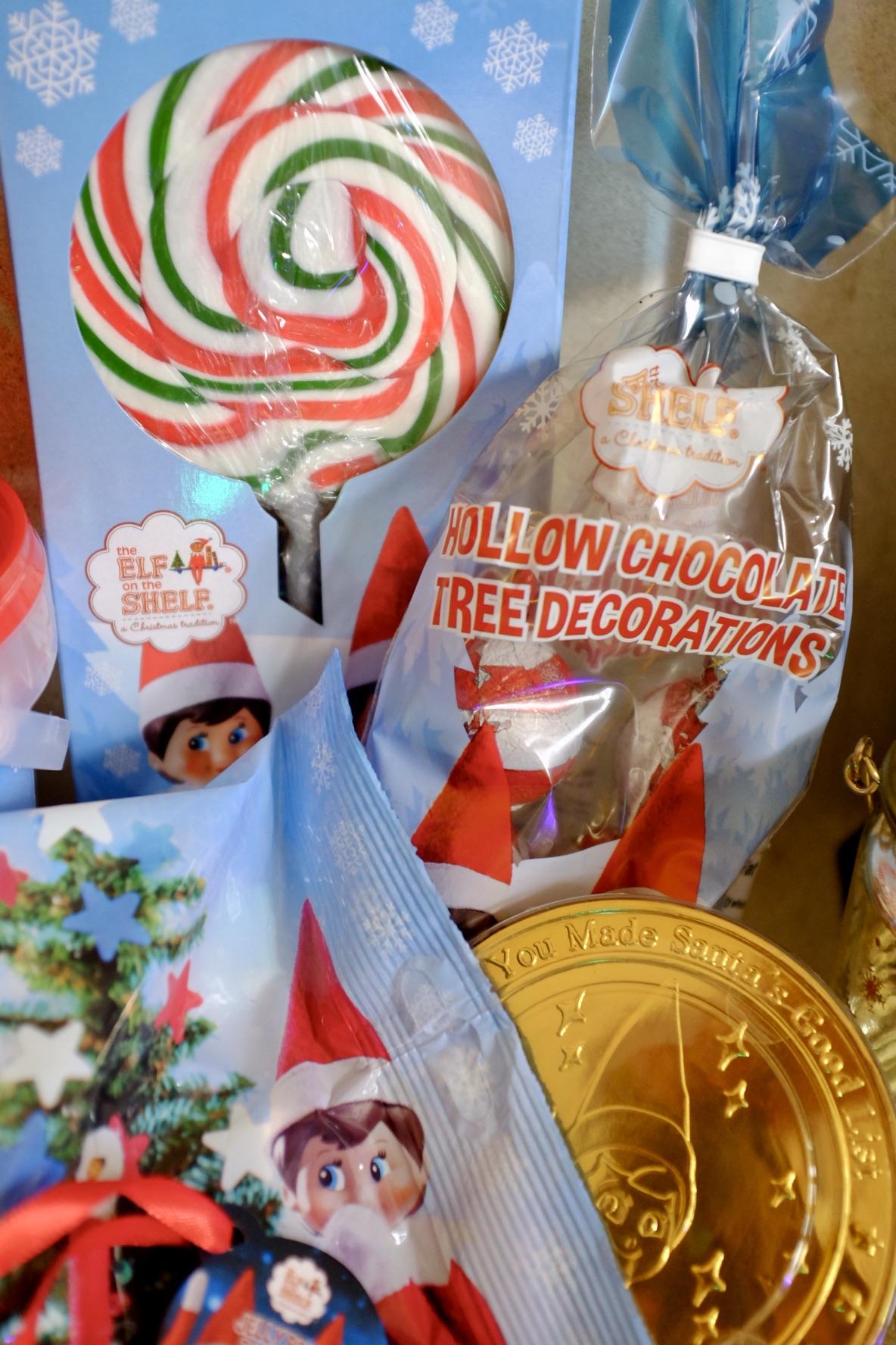 Elf on the shelf sweet treats