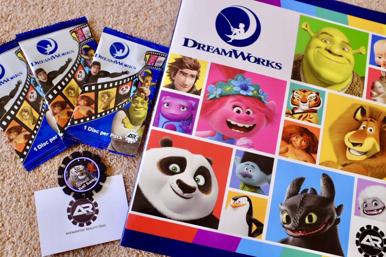 Augmented reality discs - AR discs - DreamWorks - album and discs