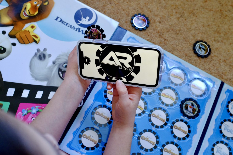 Using Augmented reality discs - AR discs
