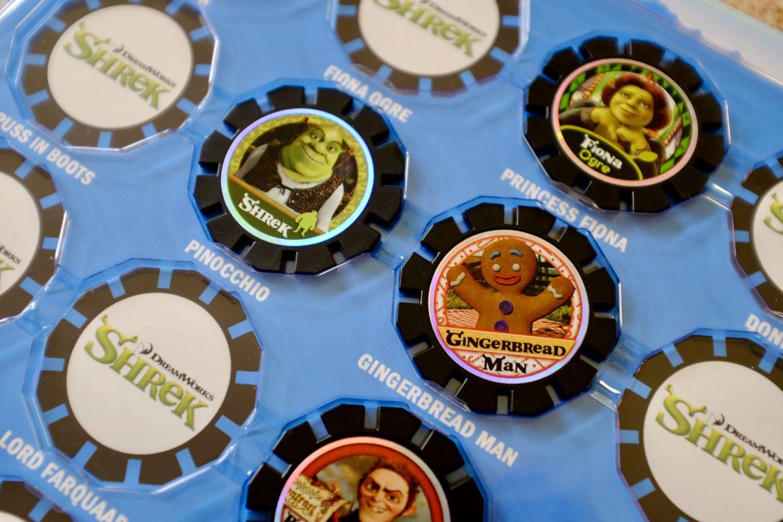 Augmented reality discs - AR discs - DreamWorks - album