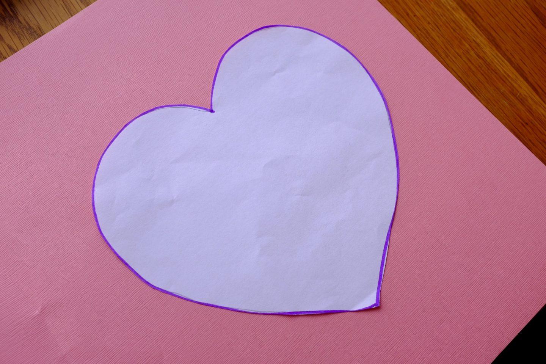 heart shape template