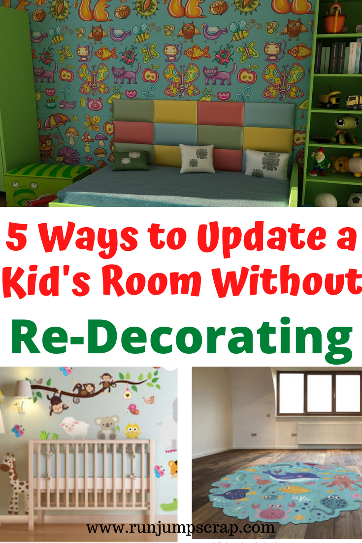 5 ways to update a kid's bedroom without decorating