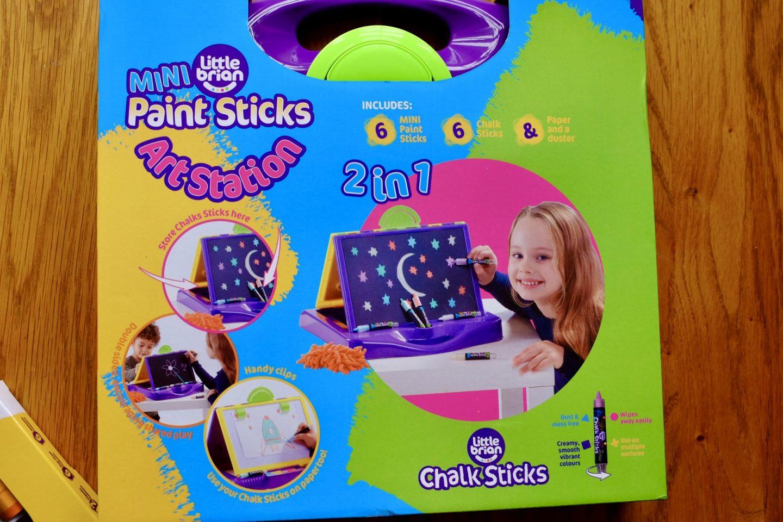 Little Brian Paint sticks art station