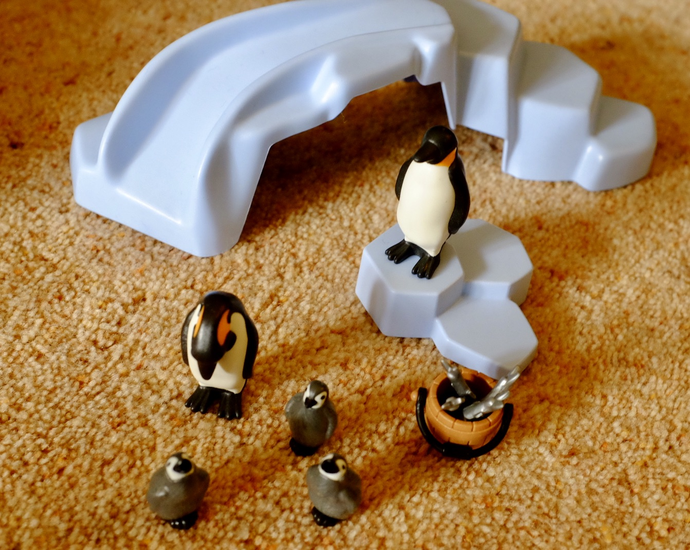 penguins in the Playmobil Family Fun Zoo