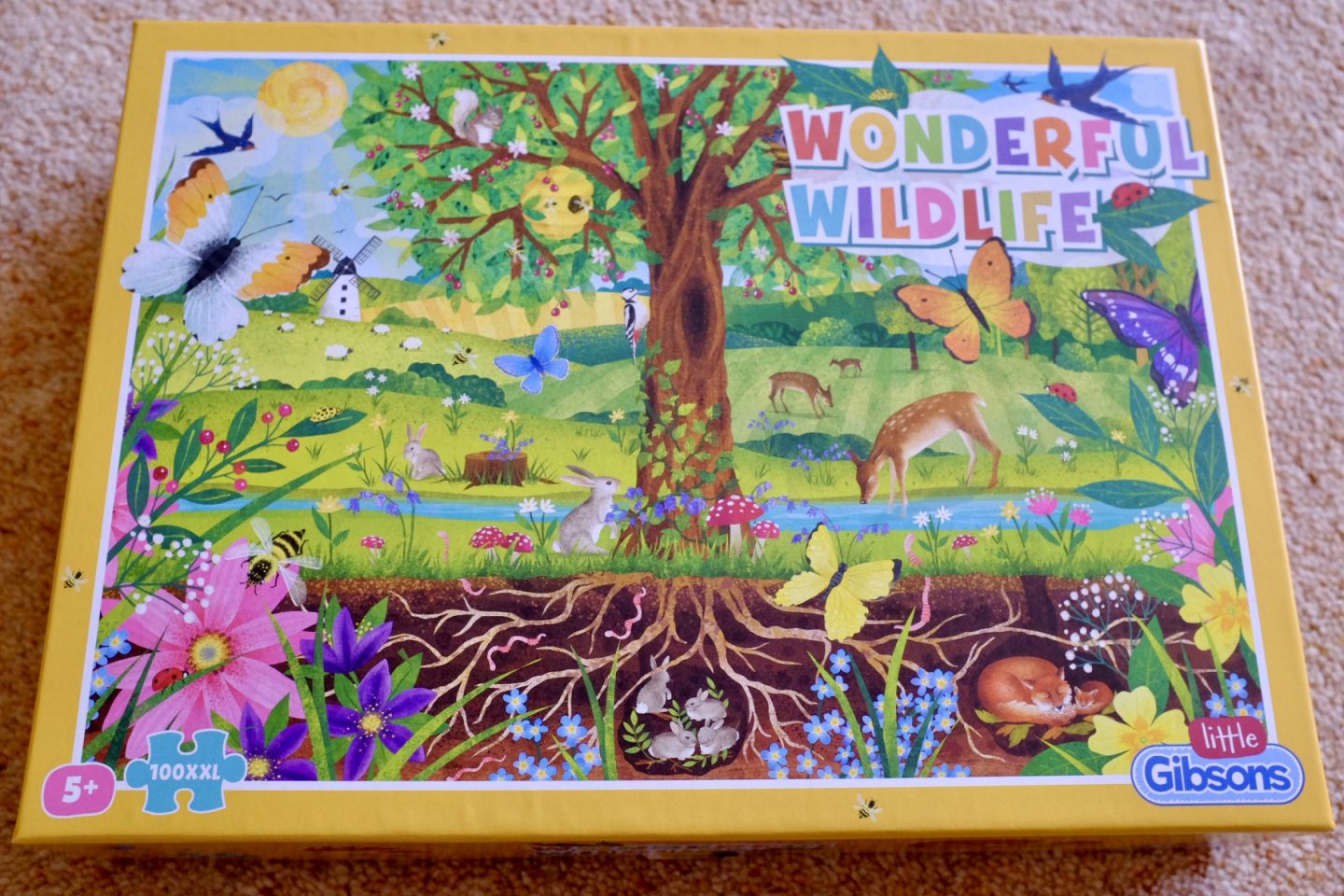 Wonderful Wildlife Jigsaw from Little Gibsons REVIEW and GIVEAWAY | AD