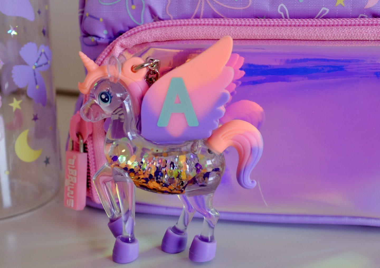 Smiggle sky unicorn keyring