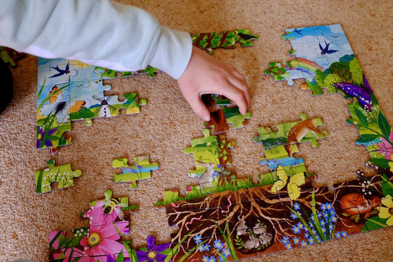 completing the Wonderful Wildlife Jigsaw