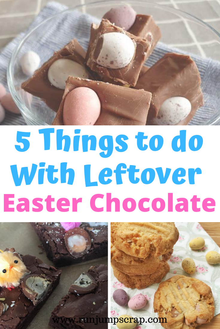 5 things to do with leftover easter chocolate