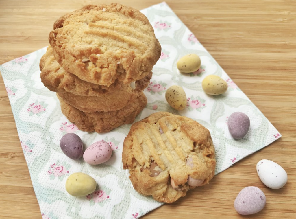 Easy Mini Egg Cookies