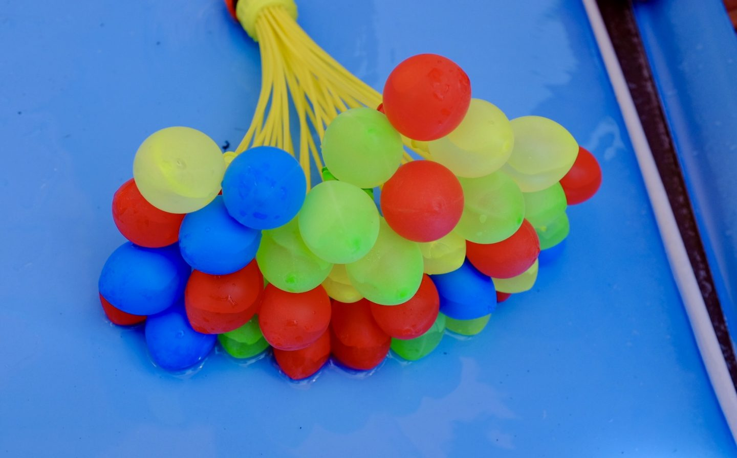partially water filled bunch o balloons