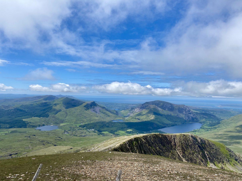 view climbing mount snowdon