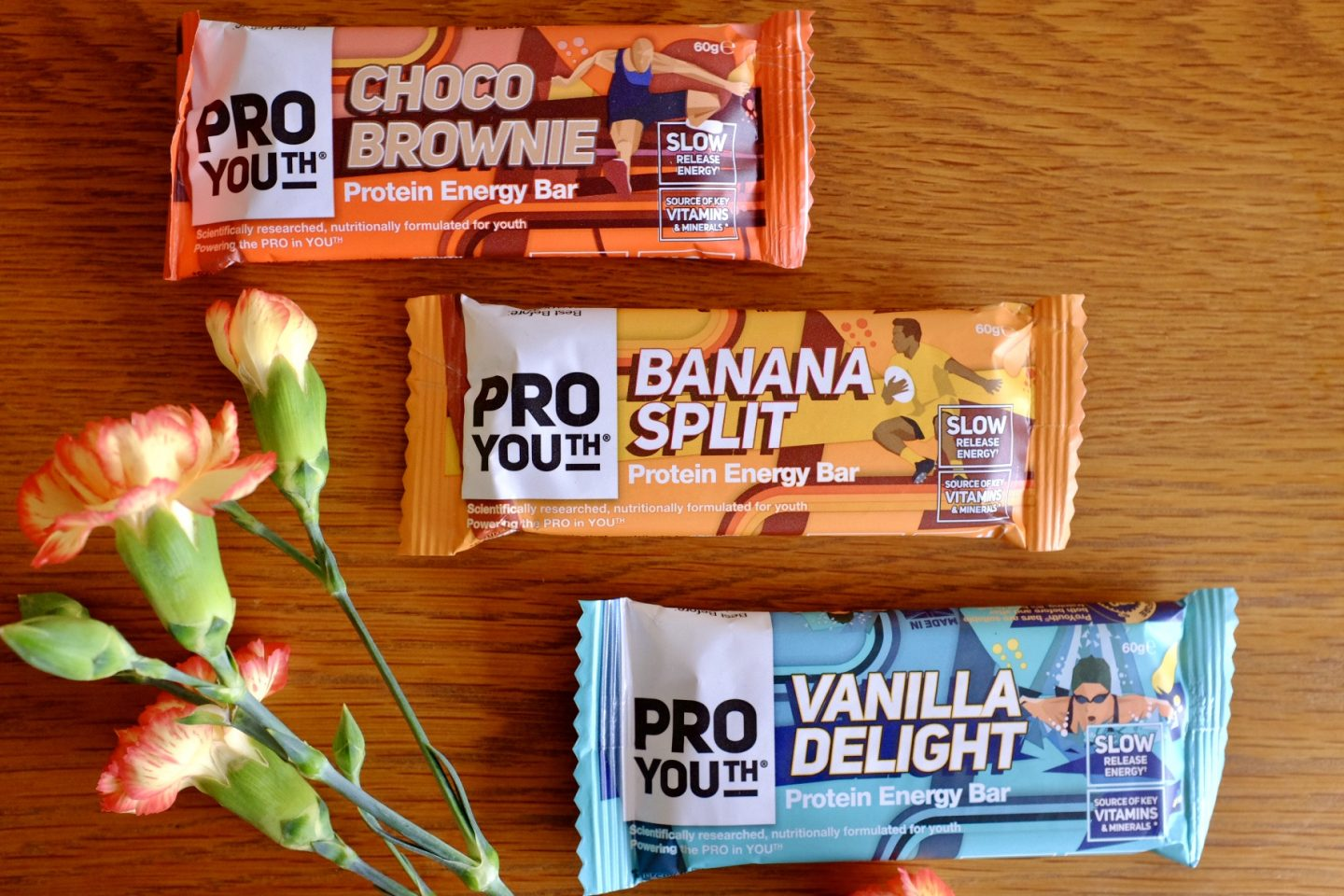 protein bars from pro youth
