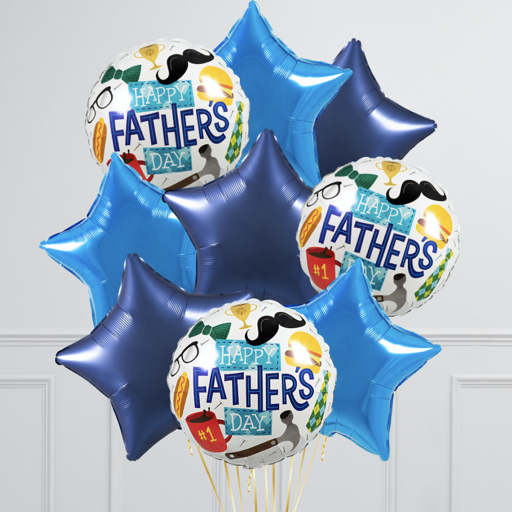 Bits and Bobs Father's Day Inflated Foil Balloons